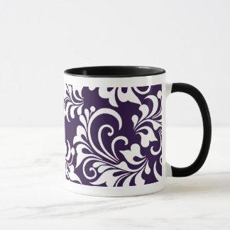 fondo floral taza
