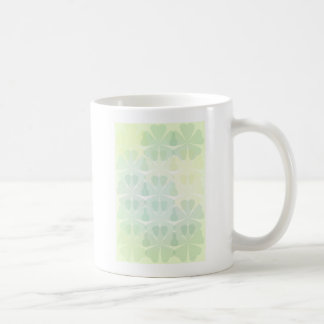 Fondo floral taza de café