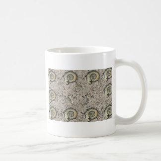 fondo fósil taza