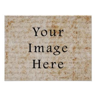 Fondo francés del papel de pergamino de la escritu fotografías