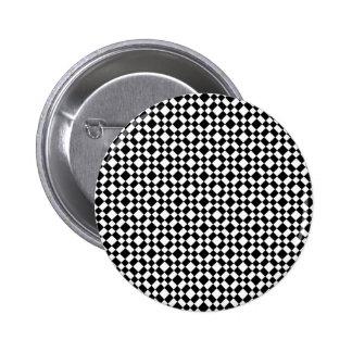 Fondo geométrico blanco y negro del modelo pin