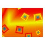 Fondo geométrico de la tarjeta de visita del model