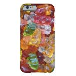 Fondo gomoso de los osos funda de iPhone 6 barely there