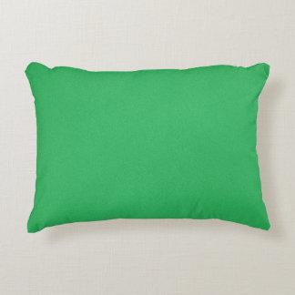 Fondo granoso verde de moda cojín