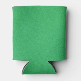 Fondo granoso verde de moda enfriador de latas