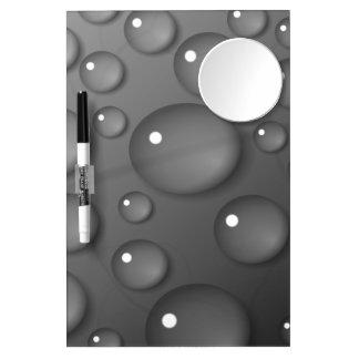 Fondo gris de la gota de agua pizarra