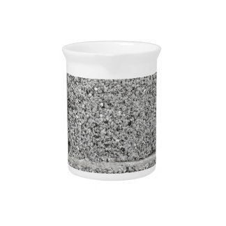 Fondo gris de la pared de ladrillo jarrones