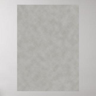 Fondo gris oscuro de la textura del pergamino impresiones