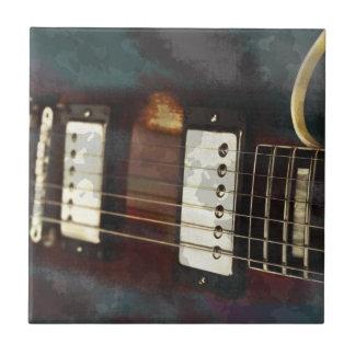 fondo grunged música eléctrica de la guitarra tejas