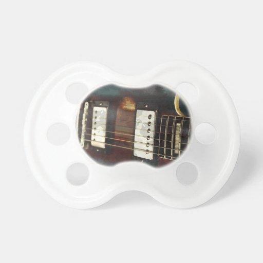fondo grunged música eléctrica de la guitarra chupete