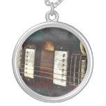 fondo grunged música eléctrica de la guitarra pendiente personalizado