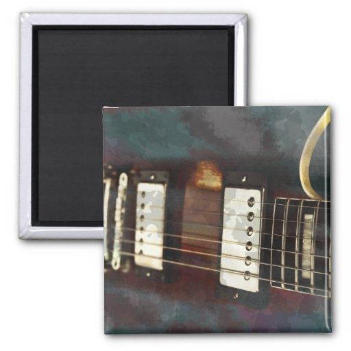 fondo grunged música eléctrica de la guitarra iman