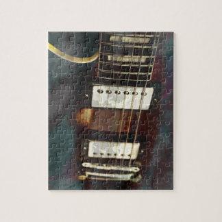 fondo grunged música eléctrica de la guitarra puzzles