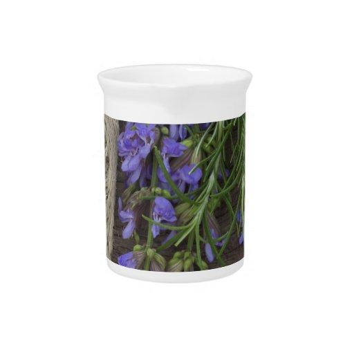 fondo herbario hermoso jarrones