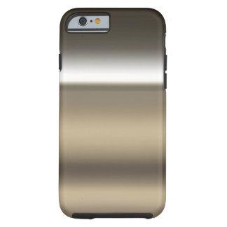 Fondo industrial de la impresión del acero funda resistente iPhone 6