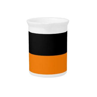 fondo inferior negro superior del personalizado de jarrones