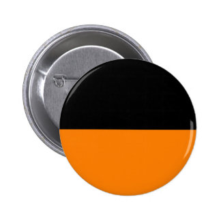 fondo inferior negro superior del personalizado de pin redondo 5 cm