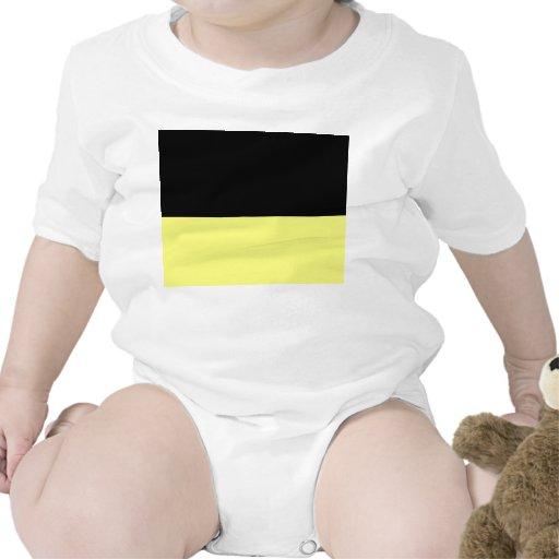 fondo inferior negro superior del personalizado de trajes de bebé