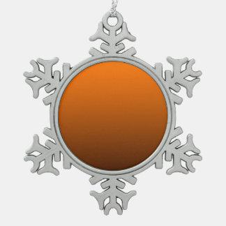 fondo inferior oscuro superior anaranjado del pers adorno
