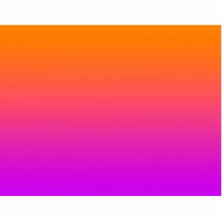 fondo inferior púrpura superior anaranjado de la p esculturas fotográficas