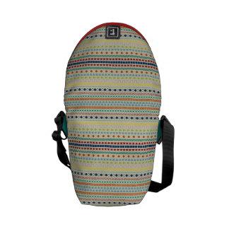 Fondo inspirado tribal bonito del moreno del model bolsas de mensajeria