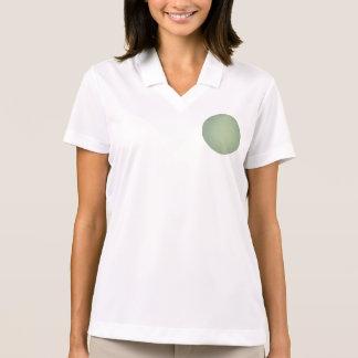 Fondo lamentable de la verde menta del estilo retr camiseta polo