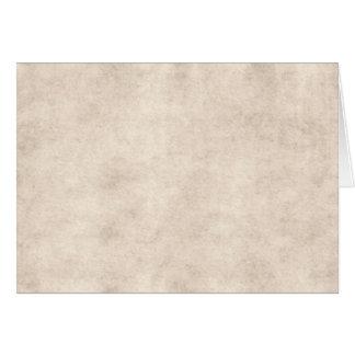 Fondo ligero del papel de la antigüedad del pergam tarjeton