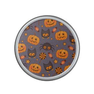 Fondo lindo de la púrpura del modelo de Halloween Altavoz Bluetooth
