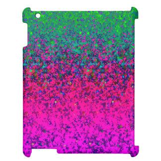 Fondo listo del polvo del brillo del caso del iPad