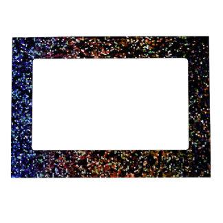 Fondo magnético del gráfico del brillo del marco marcos magnéticos de fotos