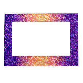 Fondo magnético del gráfico del brillo del marco marcos magneticos de fotos