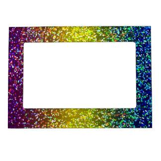 Fondo magnético del gráfico del brillo del marco marcos magneticos para fotos