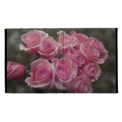 fondo manchado ramo subió colorized rosa