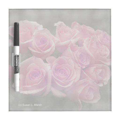 fondo manchado ramo subió colorized rosa pizarra blanca