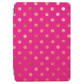 Fondo metálico de las rosas fuertes del lunar de cover de iPad air