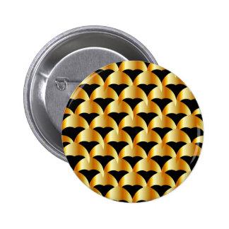 Fondo metálico de las tejas pin redondo de 2 pulgadas