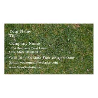 Fondo mezclado hermoso de la hierba plantillas de tarjetas de visita