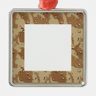 Fondo militar del camuflaje del desierto adorno