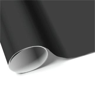 Fondo negro. Color sólido elegante elegante de la Papel De Regalo