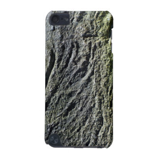 Fondo negro natural de la roca