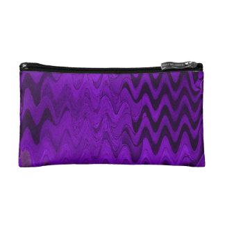 fondo negro púrpura de la onda