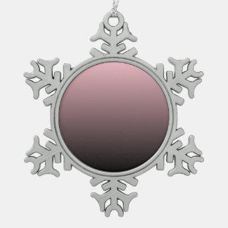 Fondo negro rosado de Ombre Adorno