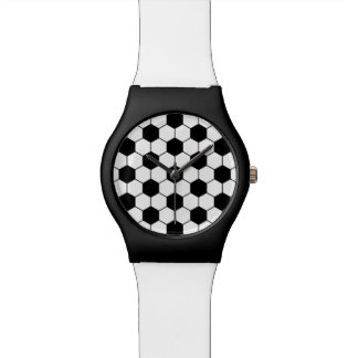 Fondo o adorno adaptado del modelo del balón de fú relojes de pulsera