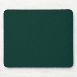 Fondo oscuro de color sólido de Forest Green del a Alfombrilla De Ratón