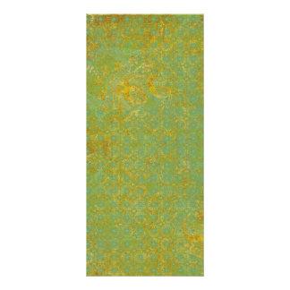 Fondo oxidado del modelo de la verde lima lonas publicitarias