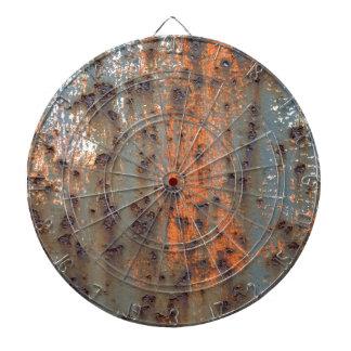 Fondo oxidado tabla dardos