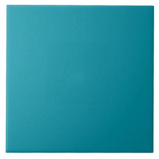 Fondo personalizado azul del trullo de la azulejo cuadrado grande