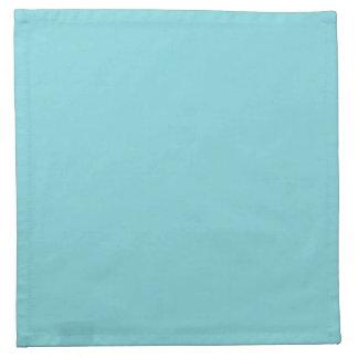 Fondo personalizado azul del trullo de la servilletas
