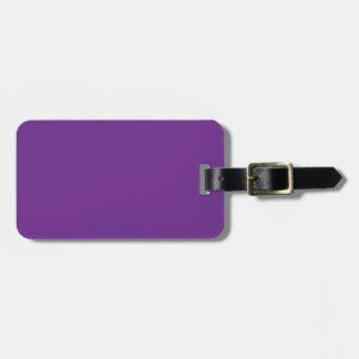 Fondo personalizado del color de la tendencia de l etiqueta de equipaje