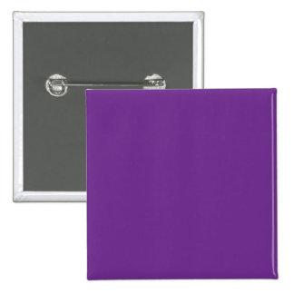 Fondo personalizado del color de la tendencia de l pin cuadrada 5 cm